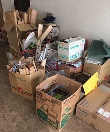 法人ゴミの回収事例