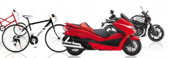 ご不用になったバイク・原付(原チャリ)や自転車の回収なら、ぜひ岡山からっぽサービスをご用命ください